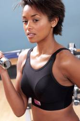 Royce - Impact Free Sports Bra Black