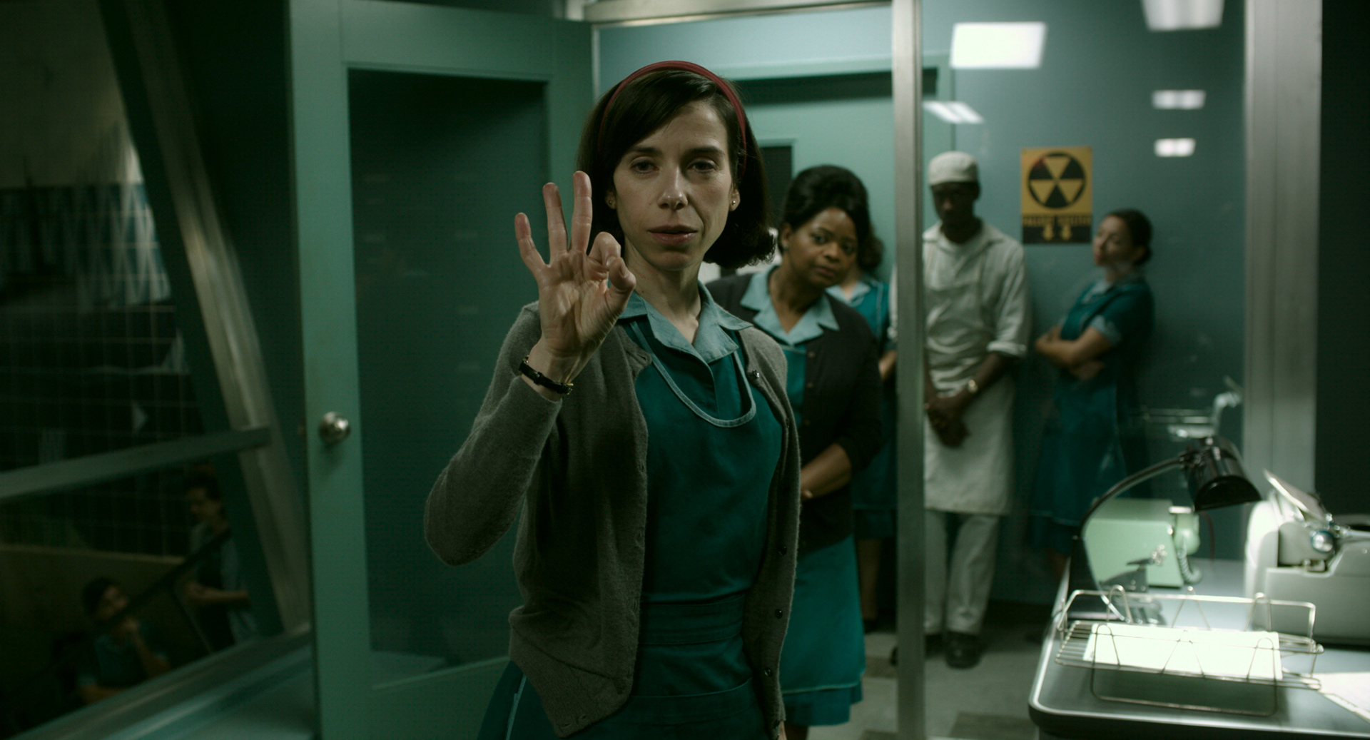 Sally Hawkins and Octavia Spencer in the film The Shape of Water / © 2017 Twentieth Century Fox Film Corporation All Rights Reserved