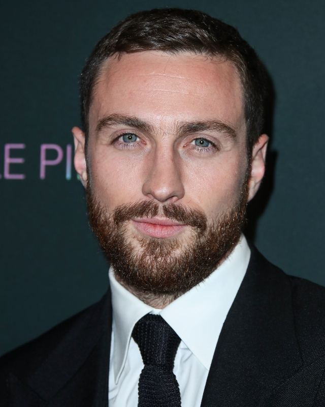 Aaron Taylor-Johnson at a special LA screening of A Million Little Pieces, December 2019 / Picture Credit: Image Press Agency/NurPhoto/PA Images
