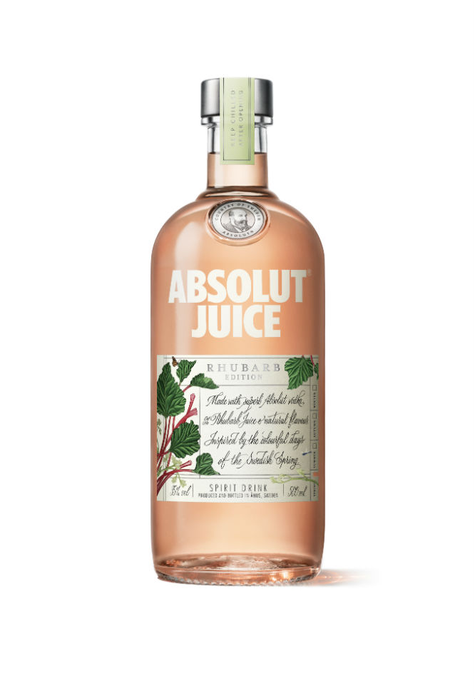 Absolut Juice deliver a gorgeous taste with their Rhubarb edition
