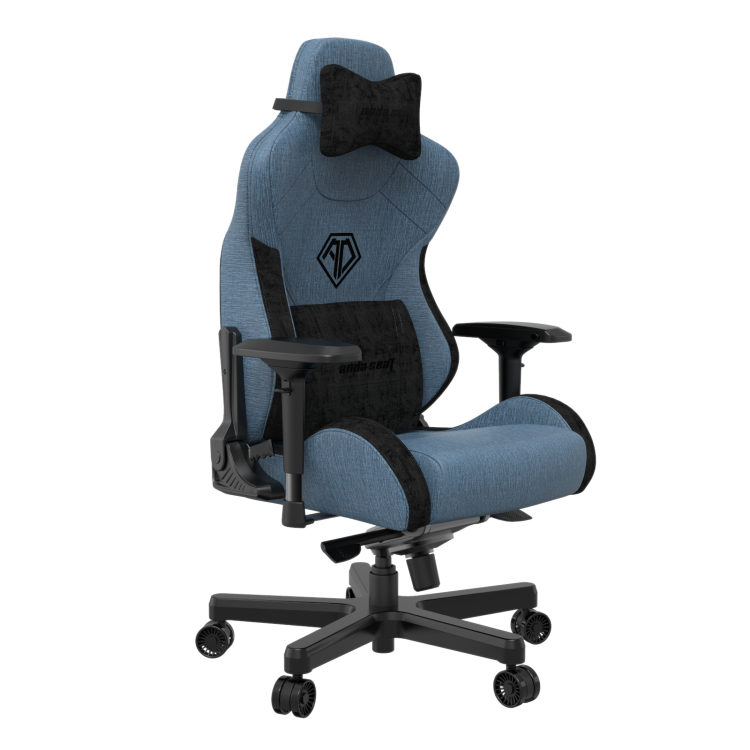 The AndaSeat T-Pro 2 Series Gaming Chair comes in three colour options: Blue, Black or White