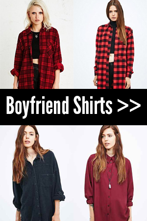 Autumn Trends: Boyfriend Shirts