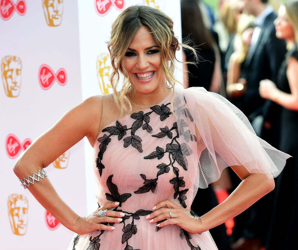 Caroline Flack at the 2018 Virgin TV British Academy Television Awards in London / Photo Credit: Ian West/PA Archive/PA Images