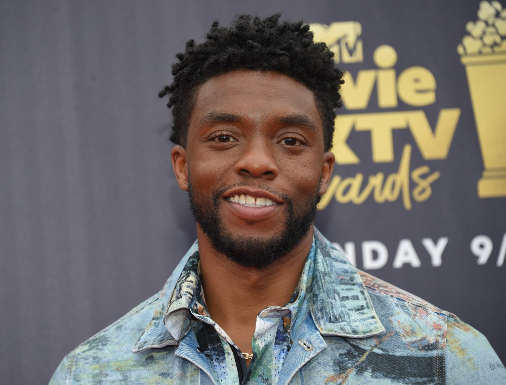 Chadwick Boseman at the 2018 MTV Movie & TV Awards in Santa Monica, CA / Picture Credit: O'Connor-Arroyo/AFF-USA.com/AFF/PA Images