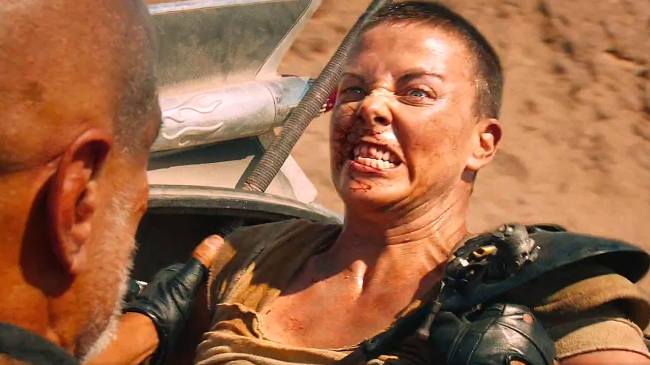 Charlize Theron in Mad Max: Fury Road / Photo Credit: Warner Bros. Pictures