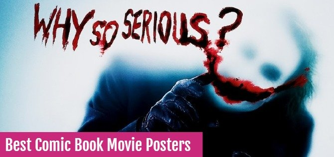 Best Comic Book Movie Posters