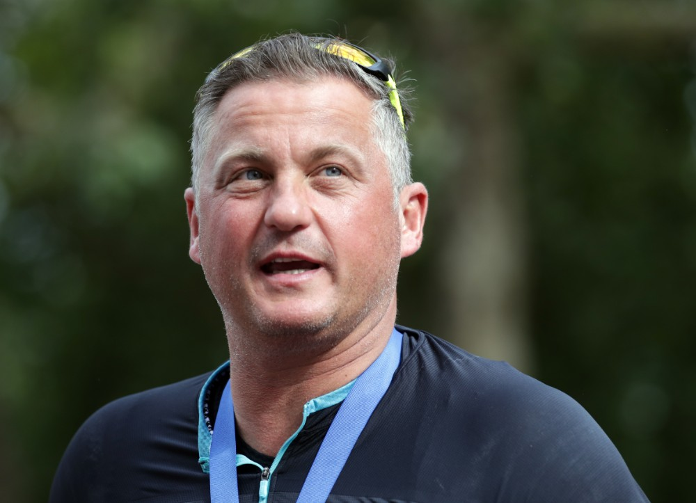 Darren Gough after completing the Surrey Classic in 2016 / Picture Credit: Adam Davy/PA Archive/PA Images