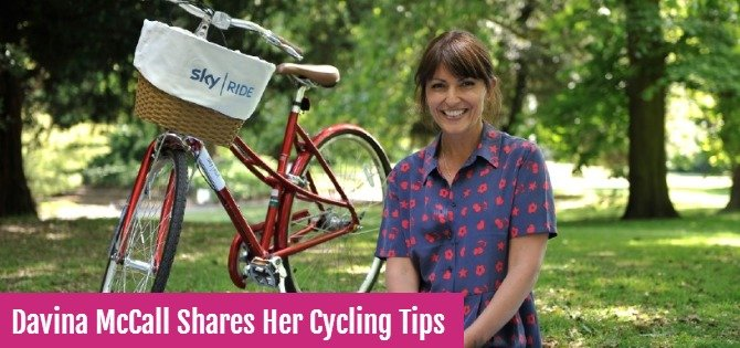 Davina McCall shares her cycling tips