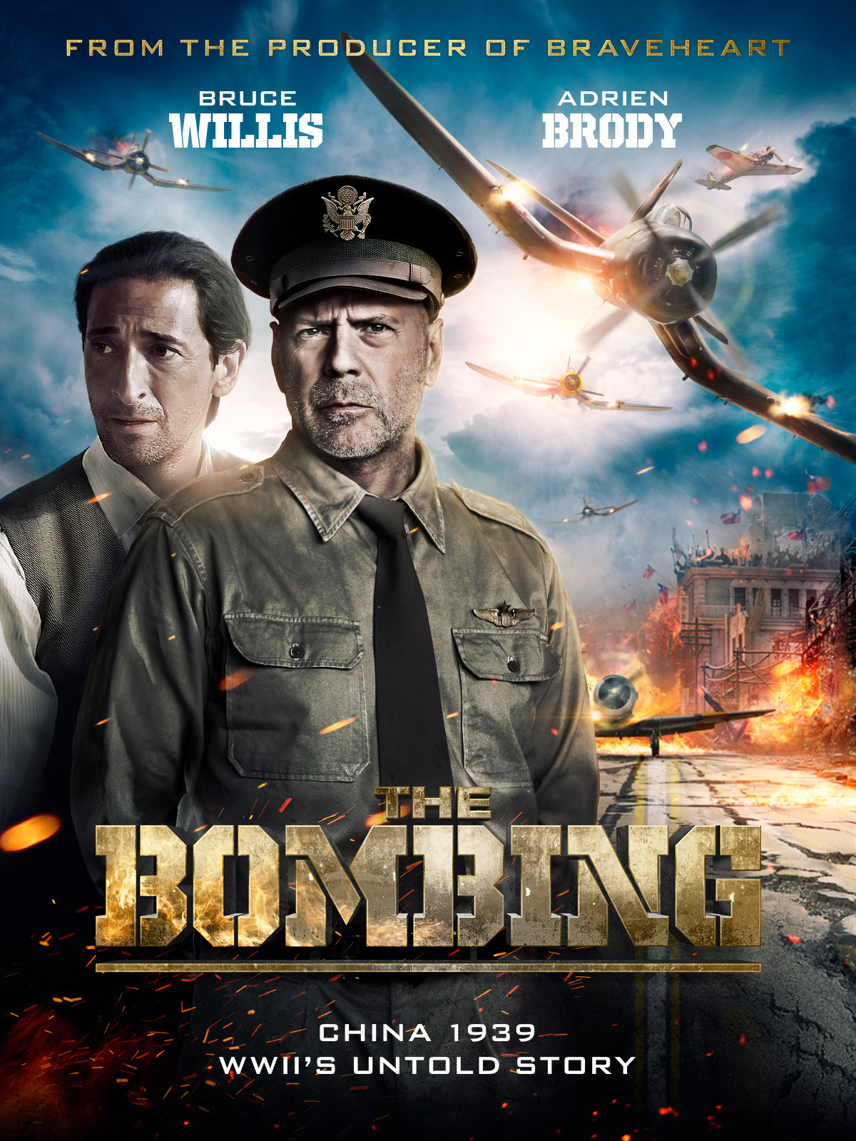 Win a copy of WWII mov... Bruce Willis