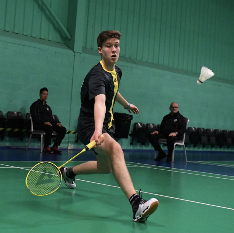 Ethan Rose is Britain's top badminton player