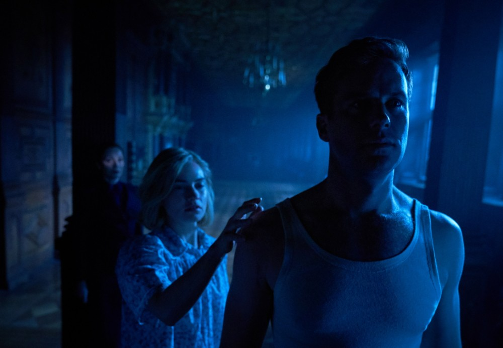 Lily James and Armie Hammer in Rebecca / Picture Credit: Netflix
