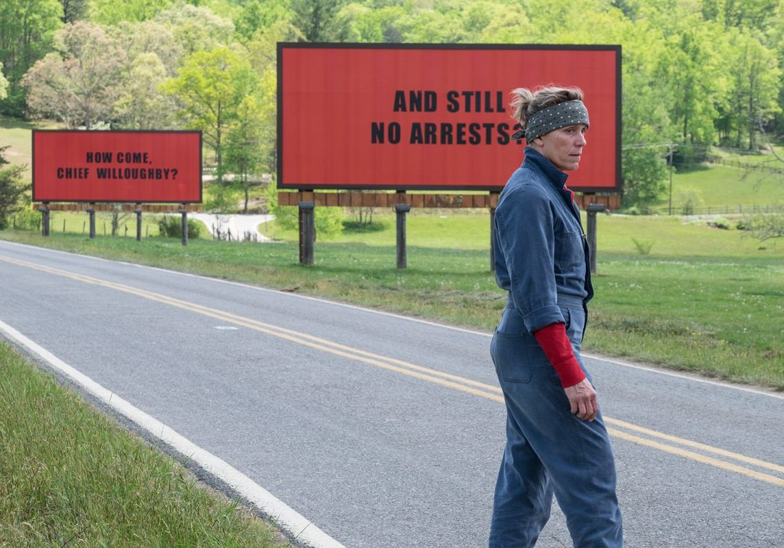 Frances McDormand in Three Billboards Outside Ebbing, Missouri / Photo Credit: Fox Searchlight Pictures