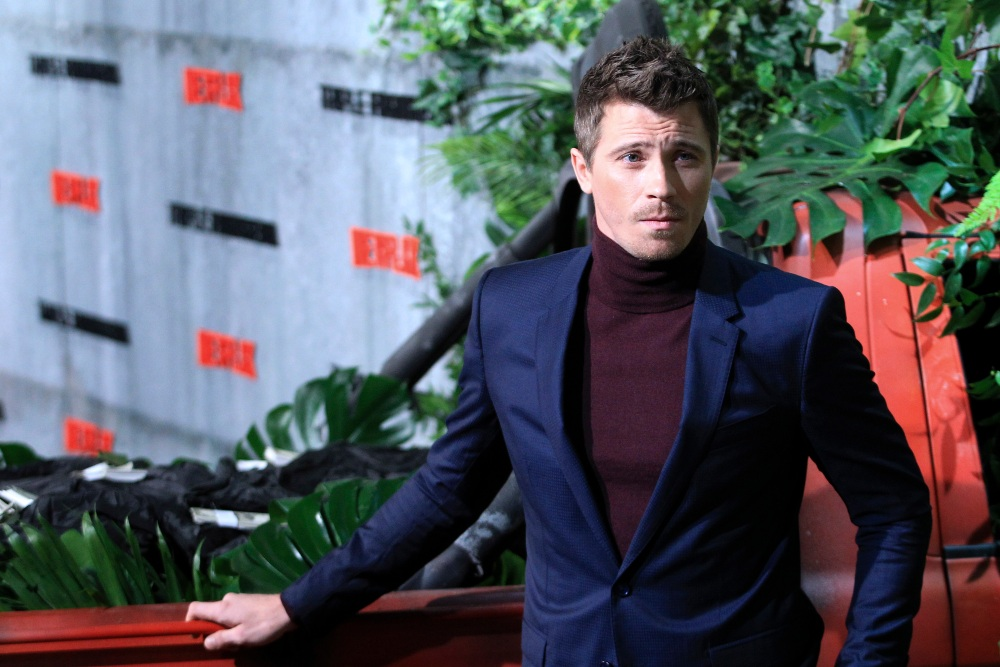 Garrett Hedlund at the premiere for Netflix movie Triple Frontier in Madrid, March 2019 / Picture Credit: DyD Fotografos/Geisler-Fotopress/DPA/PA Images