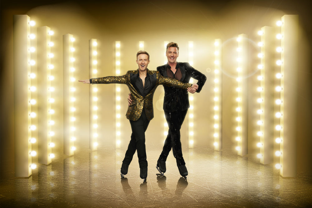 Ian 'H' Watkins and Matt Evers / Photo Credit: ITV