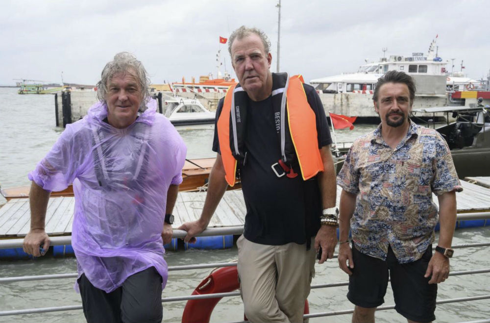 James May, Jeremy Clarkson and Richard Hammond will all star in The Grand Tour Presents: Seamen
