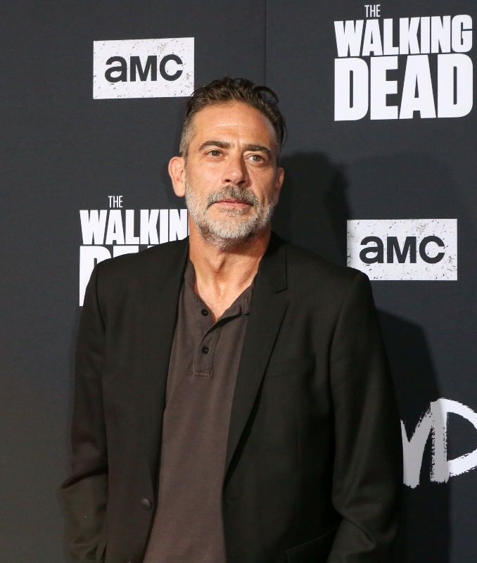 Jeffrey Dean Morgan at the Walking Dead Season 10 premiere in Los Angeles, September 2019 / Picture Credit: Alexander Seyum/Zuma Press/PA Images