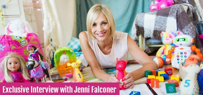 Exclusive Interview with Jenni Falconer