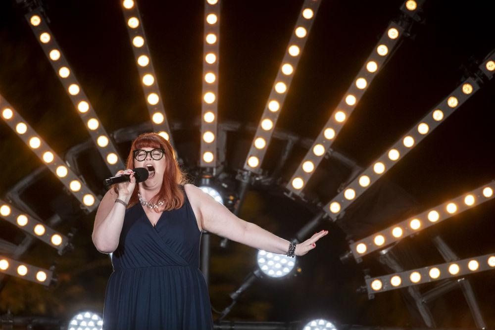 Jenny Ryan acts in The X Factor: Celebrity / Photo Credit: Syco / Thames / ITV