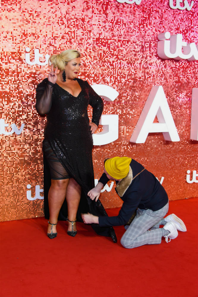 Gemma Collins at the 2017 ITV Gala / Photo Credit: JHMH/FAMOUS