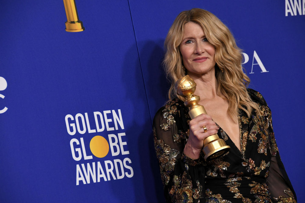 Laura Dern enjoyed a big win / Photo Credit:  Sipa USA/SIPA USA/PA Images