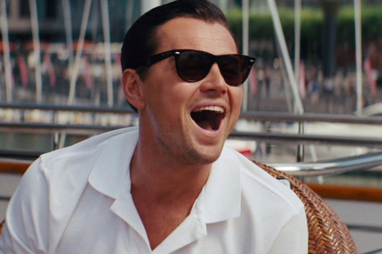 Leonardo DiCaprio in The Wolf of Wall Street / Photo Credit: Paramount Pictures