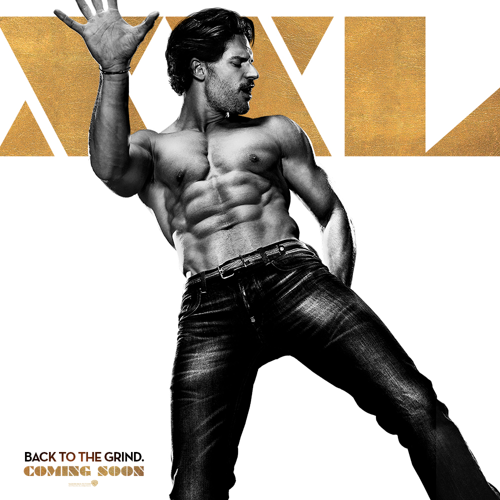 more magic mike xxl character posters. Black Bedroom Furniture Sets. Home Design Ideas