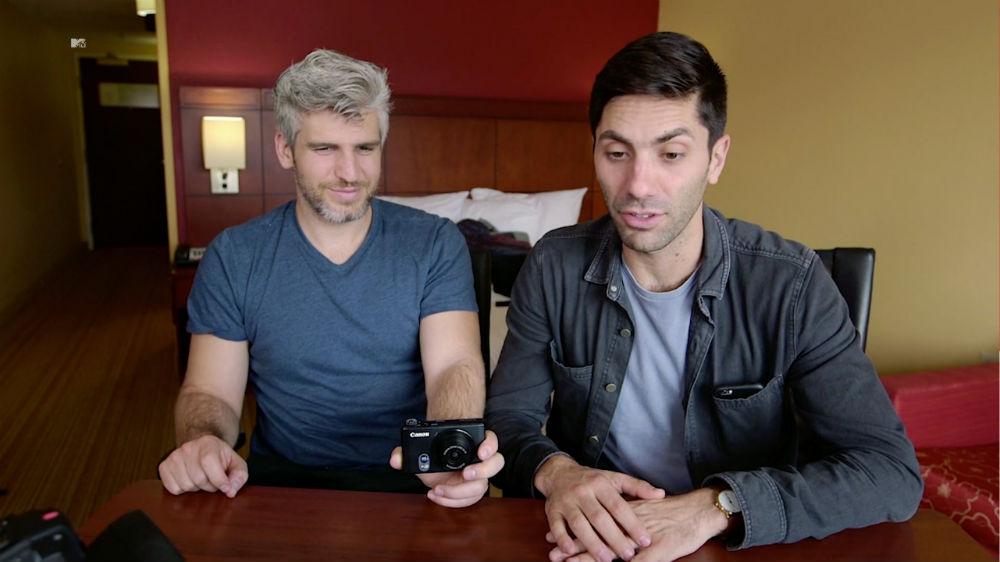 Max Joseph and Nev Schulman at Catfish the TV show / Photo credit: MTV