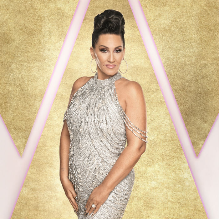 Michelle Visage stunned by Strictly Come Dancing / Photo credit: Ray Burmiston / BBC