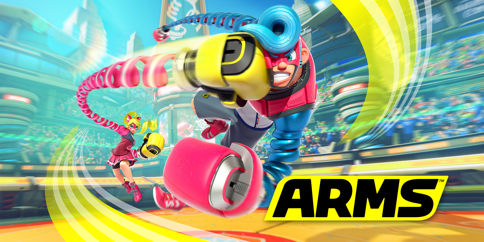 ARMS is out now