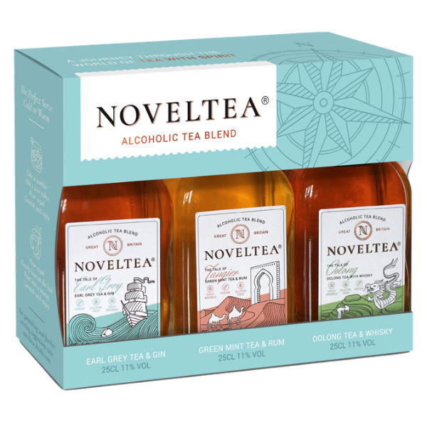 A trio of intriguing flavours from NOVELTEA