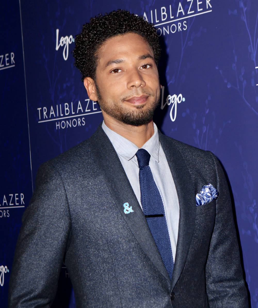 Jussie Smollett at Logo's 2017 Trailblazer Honors Awards / Photo Credit: NYNR/FAMOUS