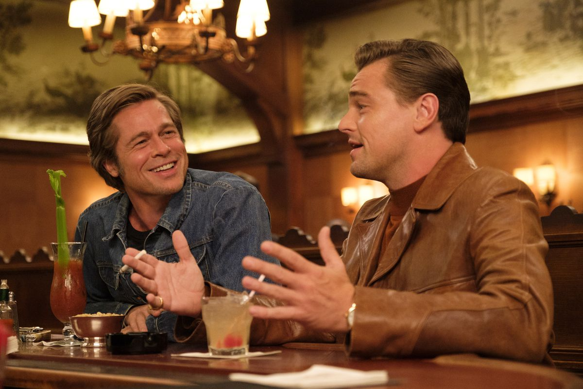 Brad Pitt and Leonardo DiCaprio in Once Upon A Time In Hollywood / Photo Credit: Sony Pictures
