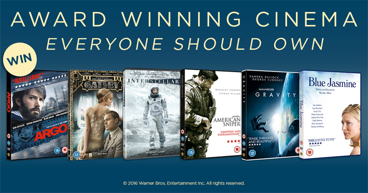 Oscar Winning DVD Comp Image
