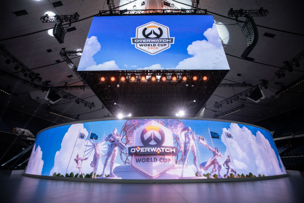 Overwatch World Cup 2018 / Photo Credit: Robert Paul/Blizzard