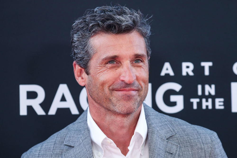 Patrick Dempsey at The Art of Racing In The Rain premiere in Los Angeles, August 2019 / Picture Credit: Image Press Agency/SIPA USA/PA Images