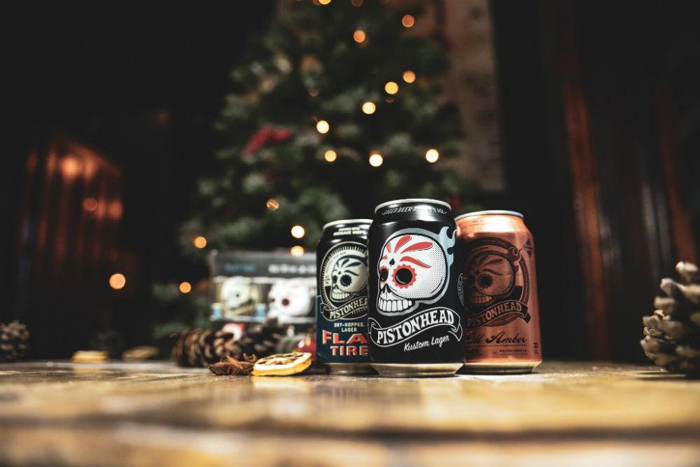 Pistonhead's three craft flavours are a real Christmas treat