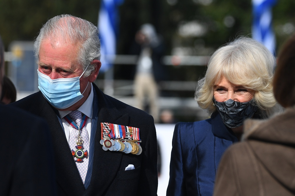 Prince Charles and the Duchess of Cornwall Camilla on a Royal visit in Greece, March 2021 / Picture Credit: Victoria Jones/PA Wire/PA Images