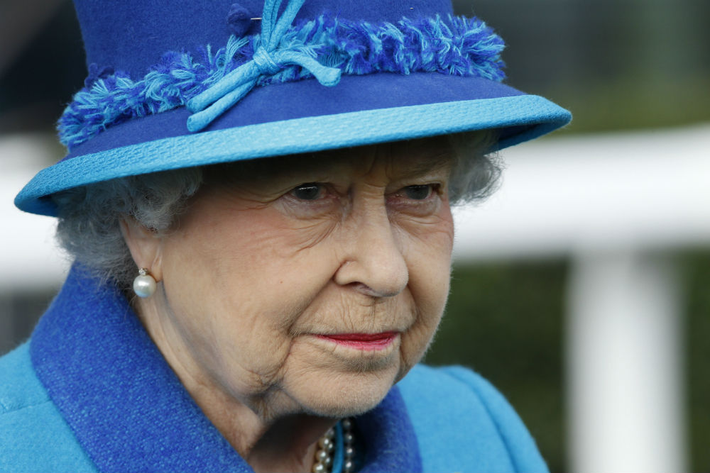 Queen Elizabeth II at the 2014 Champions Day Festival at Ascot / Photo Credit: Lajos-Eric Balogh/DPA/PA Images