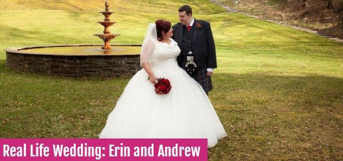 Real Life Wedding: Erin and Andrew
