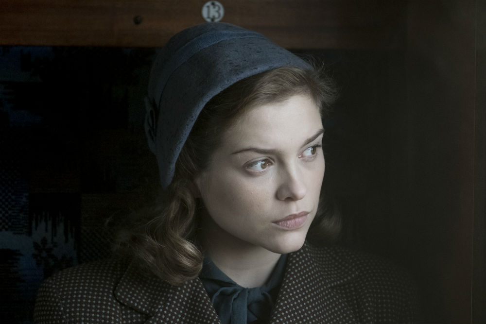 Sophie Cookson in Red Joan / Photo Credit: Nick Wall