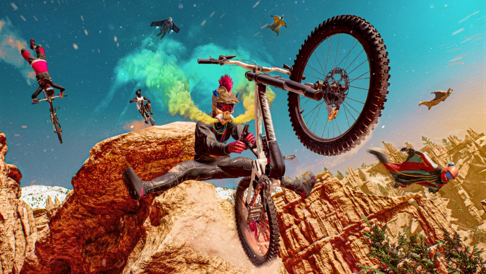 Perform a whole wealth of bike stunts / Picture Credit: Ubisoft