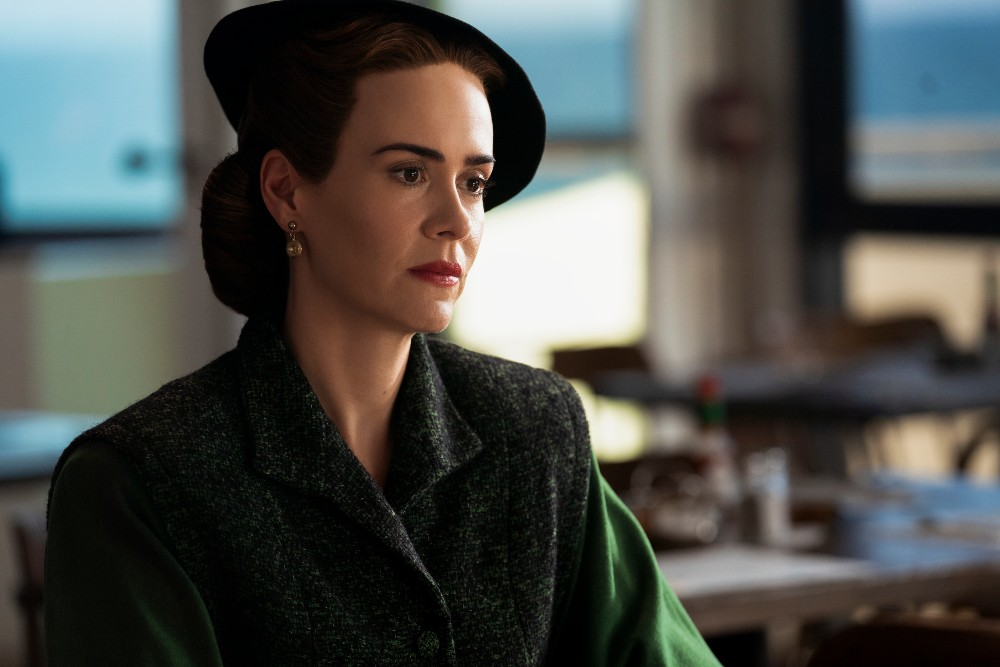 Sarah Paulson takes on the titular role of Nurse Mildred Ratched in the Ryan Murphy Netflix series / Picture Credit: Saeed Adyani/Netflix
