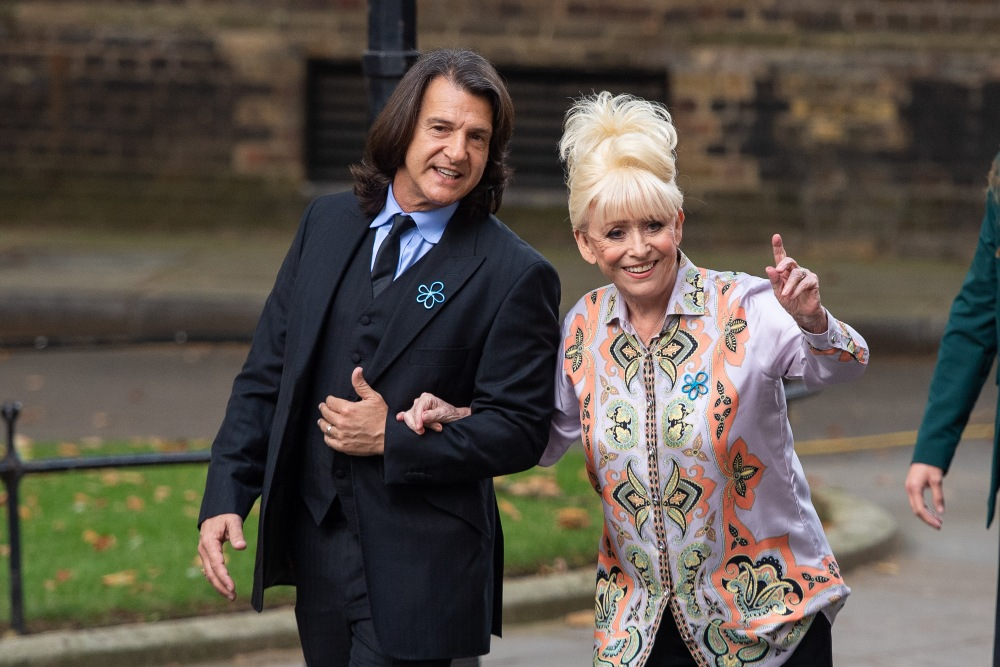 Scott Mitchell and Dame Barbara Windsor on the way to meet Prime Minister Boris Johnson in 2019 / Picture Credit: Dominic Lipinski/PA Wire/PA Images