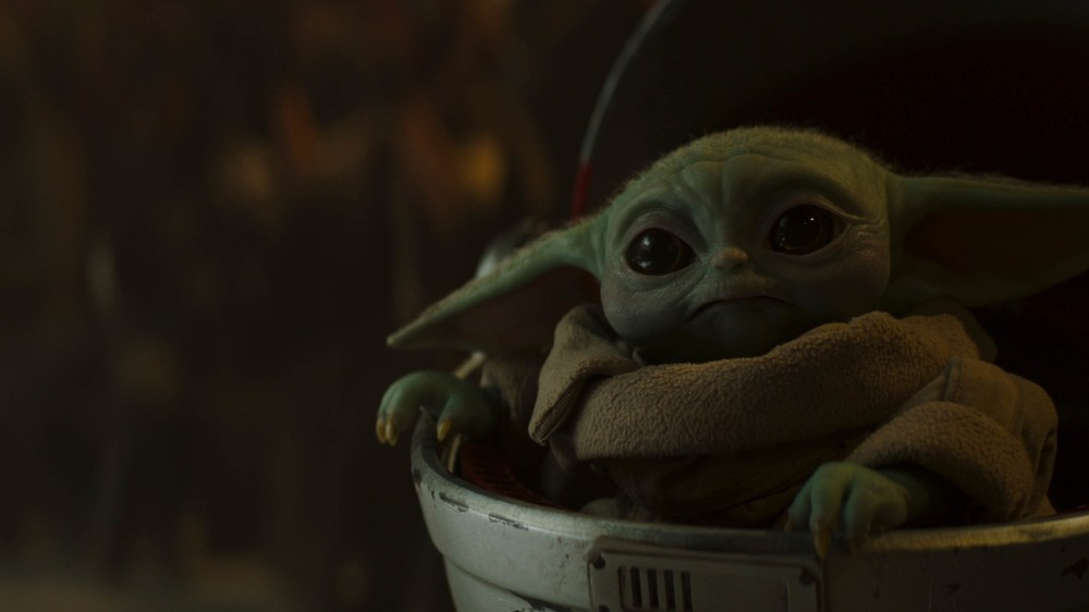 The Child, known to fans as Baby Yoda, makes their return / Picture Credit: Lucasfilm Ltd.