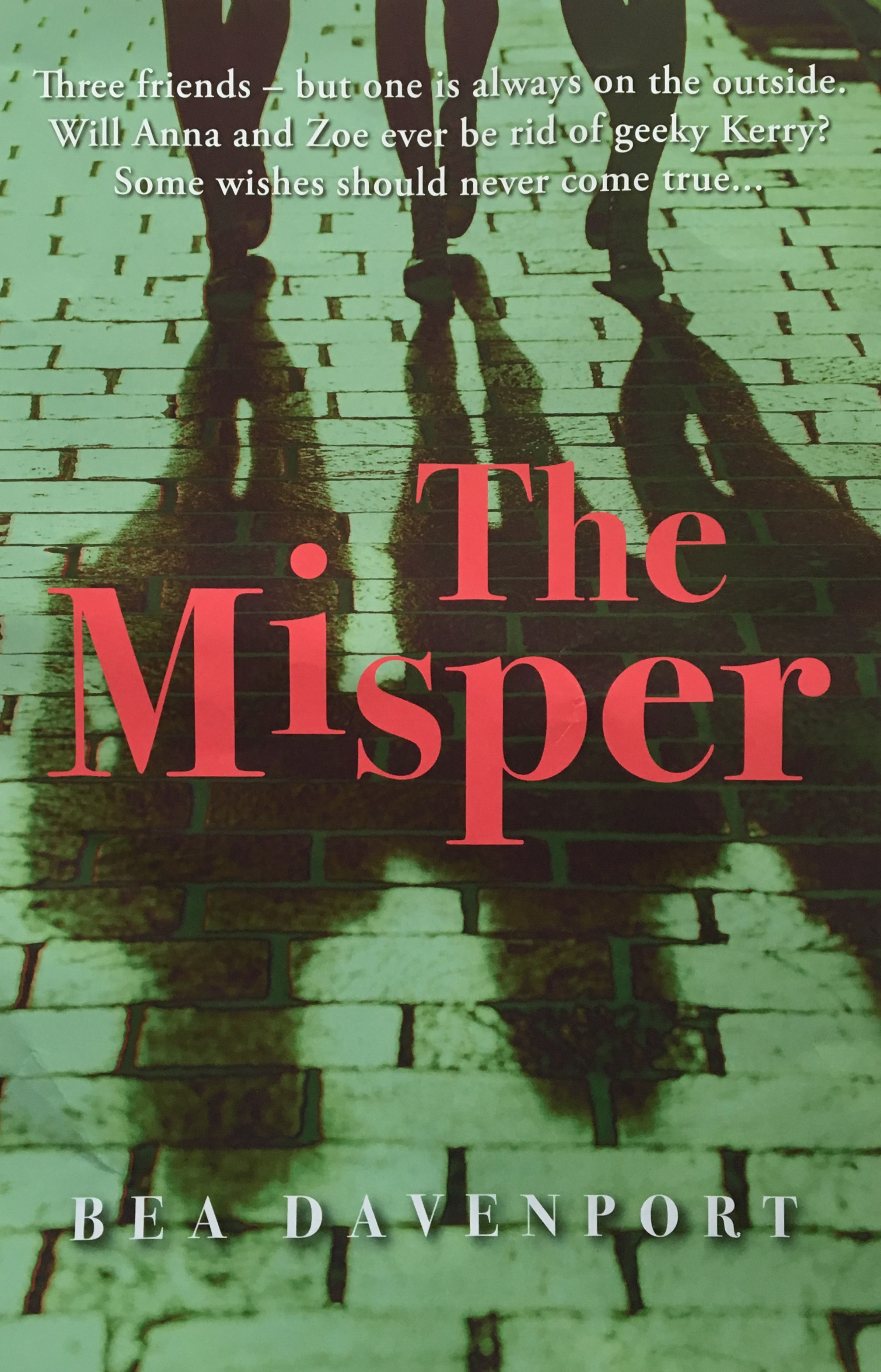 Bea's latest novel The Misper is out now
