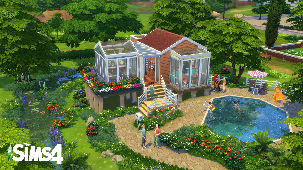 Are you ready for Tiny Living in The Sims 4? / Photo Credit: EA