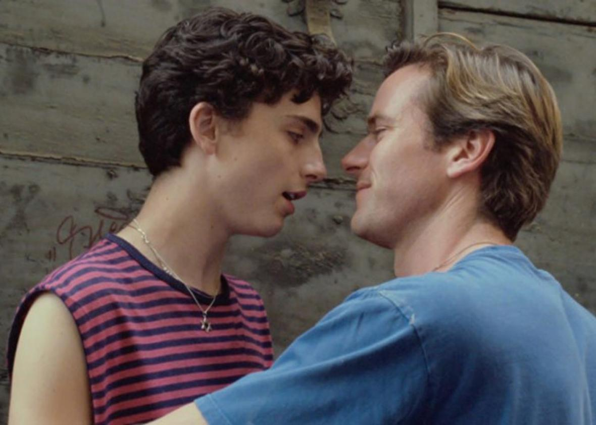 Timothée Chalamet and Armie Hammer in Call Me By Your Name / Photo Credit: Sony Pictures