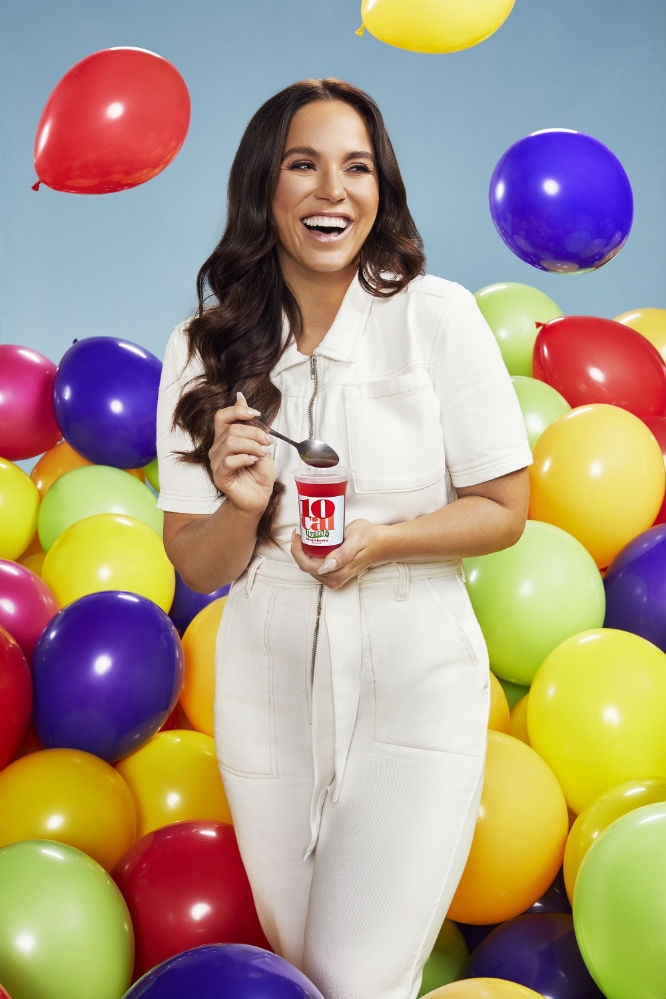 Vicky Pattison continues to partner with Hartley's 10 Cal Jelly Pots