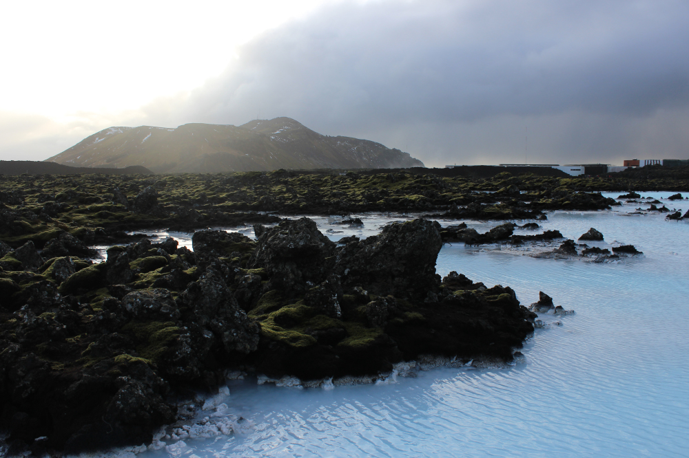 Iceland is a country with beautiful landscape