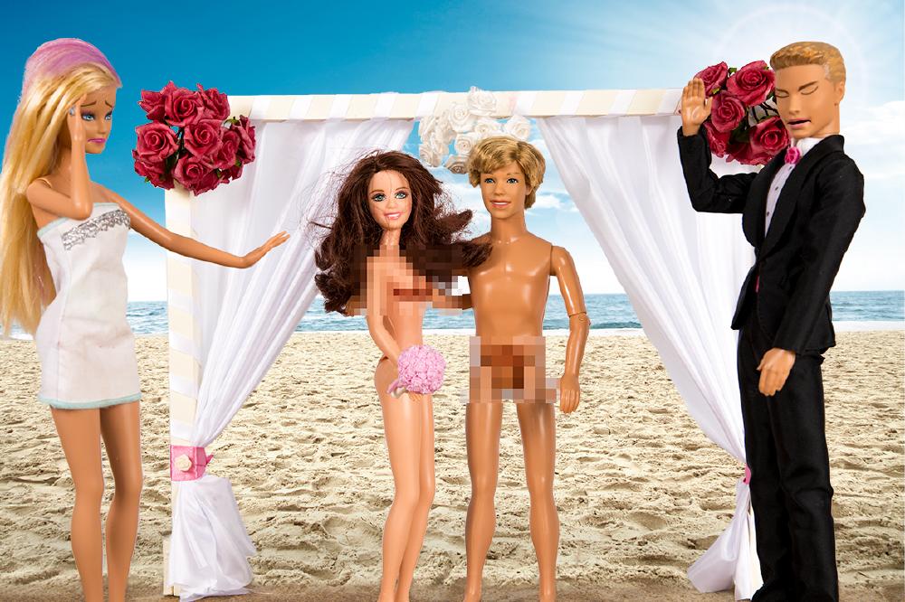 No ordinary bride nude